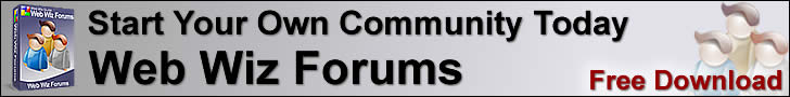 Web Wiz Forums - Build your own community with this unlimited Free Bulletin Board System
